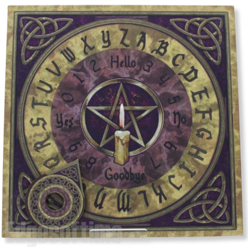 11cm Cast Iron Cauldron Halloween Pagan Wiccan Pentagram Occult Witch Wizard
